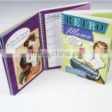 best quality best seller wholesale paper cardboard / cloth cover desk wall calendar printing
