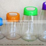 High quality dinnerware glass mason jars with handle plastic lid wholesale
