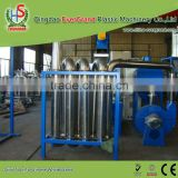 Waste Hdpe Film Disposal Equipment Farm Film Crushing Facility Crusher
