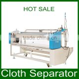 3 Auto-edge alignment,electronic calculating,cutting function Cloth Separator/cloth rolling machine for factory price