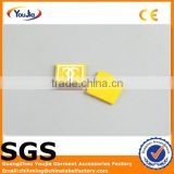 Private logo embossed 3D rubber label