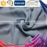 Fashion womenswear polyester 100D french silk chiffon fabric for China textile supplier