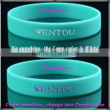 new product uv sensitive silicon wristband