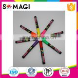 8 Pack Fluorescent colors Anti-wipe Chalk Marker with Reversible 6mm Tip for Glass, Window & LED Art Menu Writing Board
