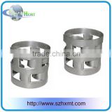 Shenzhen factory produce Stainless steel 316L metallic raschig ring for scrubbing tower and stripping