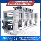 Plastic film printing machine gravure printing machine Rotogravure for BOPP,PET,PVC shrink film