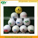 2016 hot selling Wholesale Cheap and High Quality Blank Golf Ball For range and Tournament