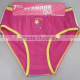 3pcs per packing with hanger girls panties