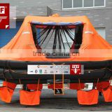 100 Person Self-righting Life Raft/ solas approved inflatable life rafts/ marine life raft