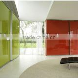 3-8mm Ultra Clear Black Red White Painted Glass