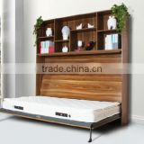 side mounted pull down bed system wall bed murphy bed machanism