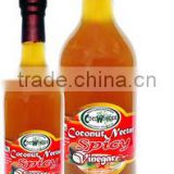HOT & SPICY COCONUT NECTAR VINEGAR - 100% Natural & Functional Food