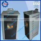 portable biomass pellet fireplace with water cycle 0086-18703680693
