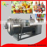 Can Tin Fruit Juice Galsss Bottle Jar Plastic Bag Steam Electric Water Sterilization Machine Retort Machine Sterilizer