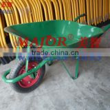 65L steel tray weelbarrow for concrete moving WB6200