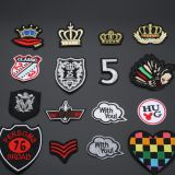 Patch logo embroidered badge clothes iron patch badge custom decals hand embroidery designs