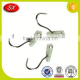 customized stainless Steel Spring S Hook for butcher's tools