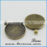 zinc alloy charm for bracelet accessories	,fashion alloy pendant setting,pendant trays and setting