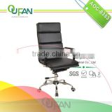 Oufan Luxury Black Office Leather Chair AOC-8353