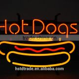 2016 new glass tube neon sign china ,pizza neon sign with cheap price from HSTD china