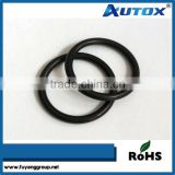All size colored rubber o rings, clear silicone rubber o ring