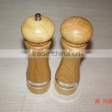 wooden pepper grinder &salt mill