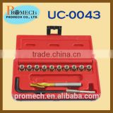 Not China Brake Calliper Guidance Thread Repair Set /Under Car Tool Set Of Automotive Specialty Tool Kit