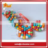 Fruity Flavour Multicolour Ball Shape Bubble Gum