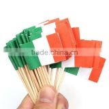 Italy Flag Picks Dinner Cake Toothpicks Cupcake Decoration Home Decor Kitchen Accessories