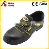 Genuine Leather Upper Material and Safety Shoes Type safety footwear for outer work