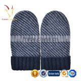 Knitted Wool Ladies Hand Cheap Winter Knt Gloves