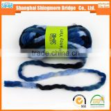 China novelty yarn factory cheap wholesale super soft chunky yarn acrylic for knitting scarf