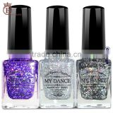 14ml High Quality Bulk Magic Color Water Laser Sequins Nail Polish