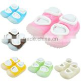 solid anti-slip newborn baby shoes