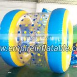 tarpaulin inflatable water walking roller for sale
