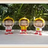 cartoon character 3d face changing doll