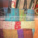 kantha patchwork bag