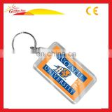 Promotional Customized Acrylic Keychain Photo Frame(Blank Keyring)