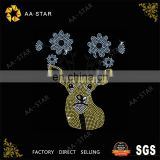 Sika deer lovely animal transfer motif for baby clothing