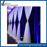 6-10ft adjustable upright cheap event black 2.0 pipe and drape for backdrop