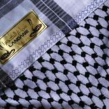 Boutique Arafat jacquard scarf / Arab Shemagh