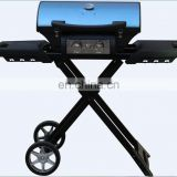 high quality folding outdoor gas bbq grill