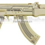 Wholesale DIY 3D wooden gun toy AK47