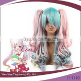 Lolita style japanese hot Imperishable Night beauty ponytail cosplay wig                                                                         Quality Choice