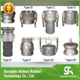 Top Quality SS304 / SS316 / Aluminum Camlock Coupling (Type A B C D E F DC DP) Quick Coupling