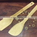 Bamboo Cook Tool Set Kitchenware Utensil , Bamboo Spatulas