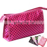 2016 Hanging Deluxe Beauty Custom Cosmetic bag, Promotional Toiletry Makeup bag For Travel
