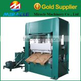 One time molding and pressing wood pallet machine for making export standard goods pallet tray process machines