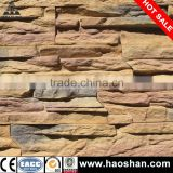 fujian new design waterproof decorative indoor and outdoor wall stone stile tile made by cement