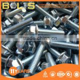 Din6921 grade 8.8 hex flange head bolts